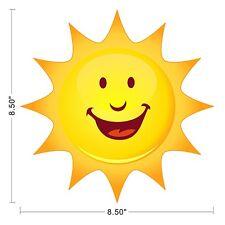 Sun Sky Smile Kids Children Wall Decal Sticker Removable Sticky Vinyl ~0450