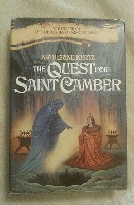 The Quest For Saint Camber Histories of King Kelson #3 Katherine Kurtz HCDJ BCE