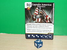 DICE MASTERS MARVEL Uncanny X-Men Rare - 100 Captain America