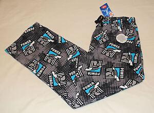 di Mens W16 Adelaide flanella nuova pantaloni Afl taglia Power stampato Logo Port L Iwap8qxx