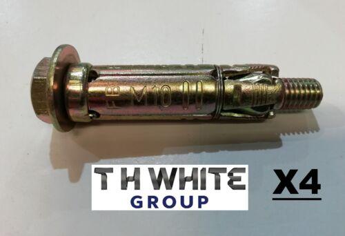 MM RAWLBOLT M10 X 75 X4 16mm DRILL WALL BOLT FIXINGS DIY