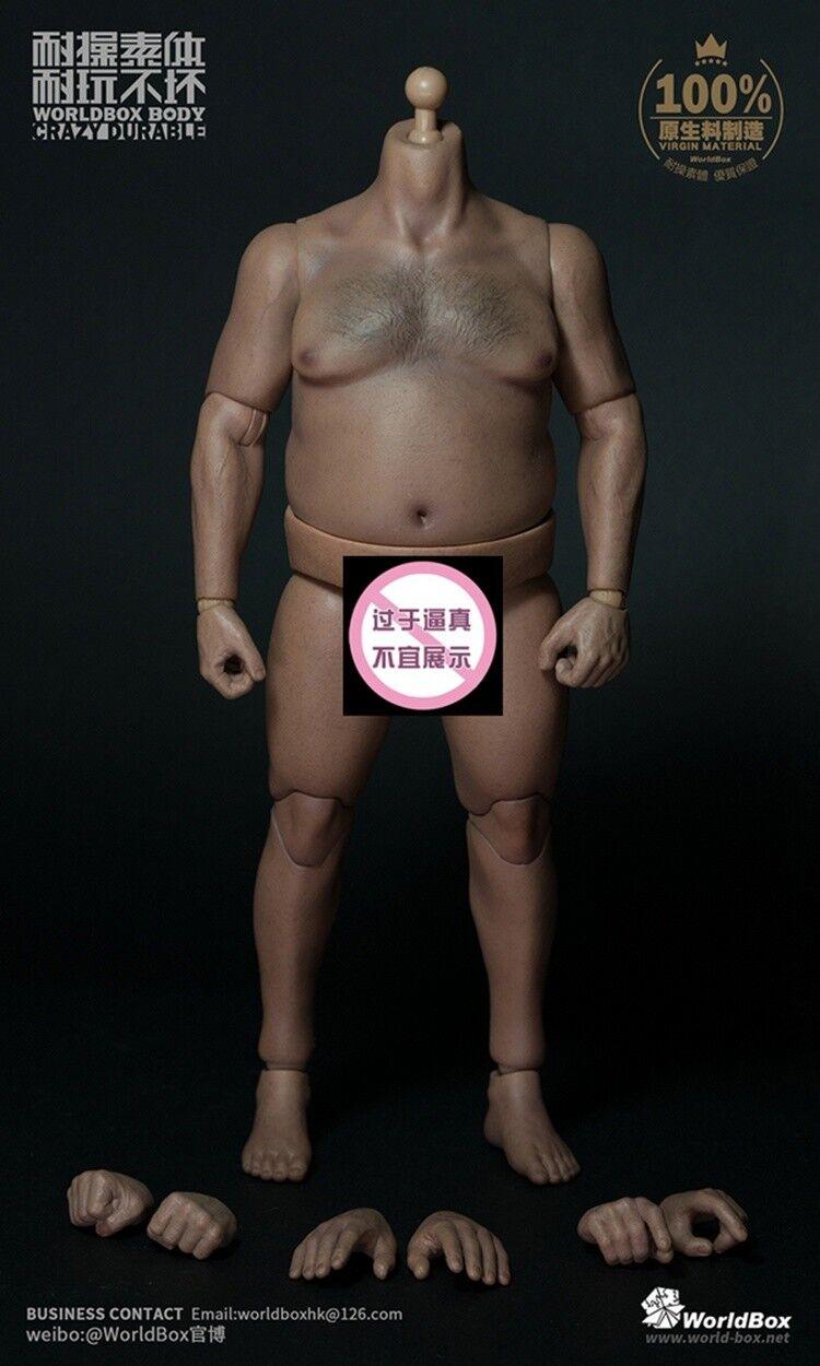 Worldbox 1     6 hombre persistente, obesidad, peso 018 libras   cuello sin cabeza b77