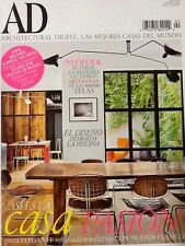 "Architectural Digest Magazine ""Casa Pasion"" Spain Edition Abril 2014"