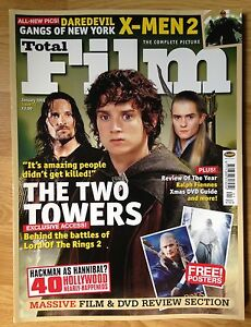 Total Film Magazine Issue 72 January 20 Lord Of The Rings Two