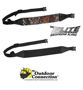 Outdoor Connection Elite Sling Rifle Shotgun Black Or Apg