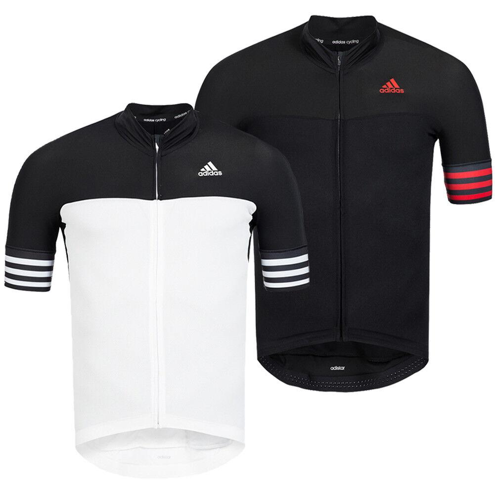 Adidas Adistar CD.Zero3 Radsport Trikot Fahrrad Jersey Shirt Top Stehkragen neu