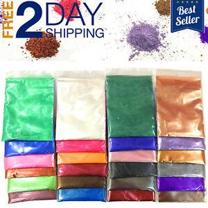 Mica-Powder-Pigments-24-Colors-Cosmetic-Grade-Bath-Bomb-Soap-Making-Colorant-Dye