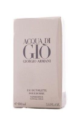 Armani Acqua Di Gio For Men 100ml 3.4oz Men EDT 100% Original & New Sealed Box