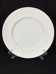 William-Sonoma-Brasserie-French-White-Clean-Large-Heavy-Pasta-1-Dinner-Plate