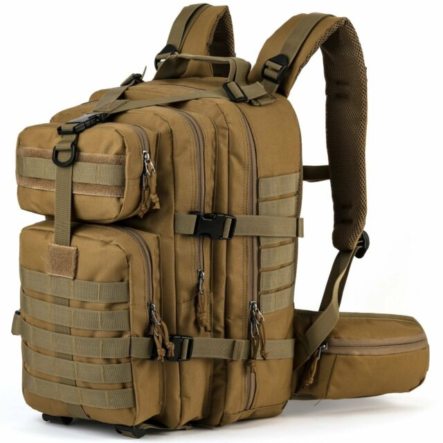 Military Tactical Backpack 3 Day Assault Pack MOLLE Bug Out Bag Army  Backpack cd65281f85