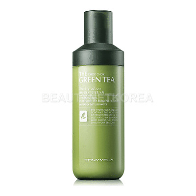 [TONYMOLY] The Chok Chok Green Tea Watery Lotion 160ml / Moisture Lotion