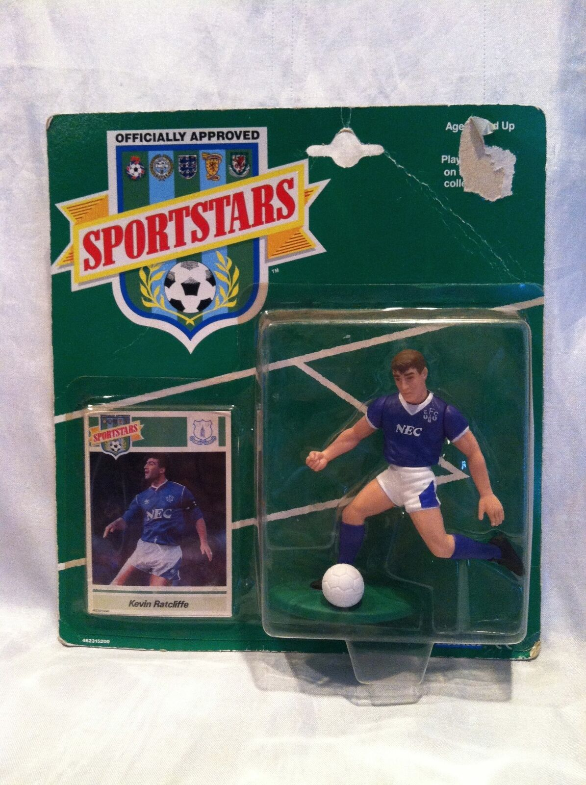 Collectible Sportstars (Starting Lineup) 1989  Kevin Ratcliffe Action Figure NOS