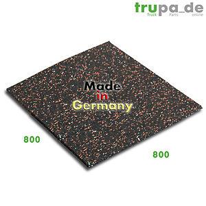 100 x 100 cm Antirutschmatte Schallschutz Antivibarationsmatte Made in Germany