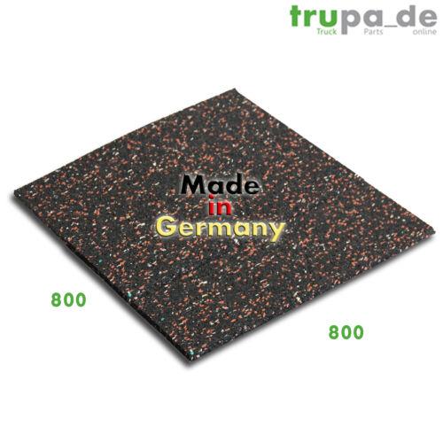 80 x 80 cm Antirutschmatte Schallschutz Antivibarationsmatte Made in Germany 10