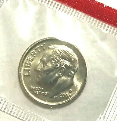 VERY NICE COIN 1994 D Roosevelt Dime In Mint Cello