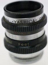 Rare - Yashica Cine-Yashikor 13mm F1.9 D Mount Lens Pentax Q Q7 Q10 QS-1 Cameras