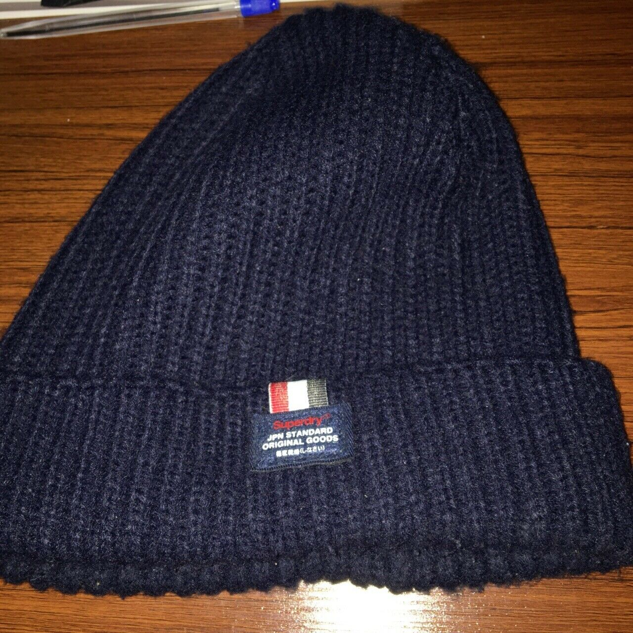 Superdry beanie and scarf