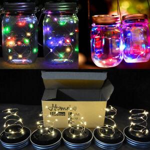 Image Is Loading Mason Jar Solar Light Lantern Patio Lights Deck