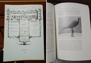 RIO-Rivista-Italiana-Di-Ornitologia-1947-Anno-17-N-2