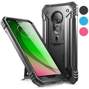 Moto G7 Power Poetic Dual Layer Shockproof Hard Shell Case Cover Ebay