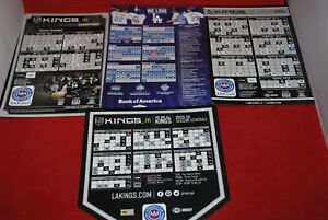 Los Angeles Kings House Rules 4x4.12 Magnet Logo #1