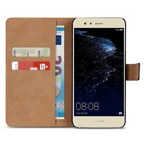 Handy-Huelle-fuer-Huawei-P10-Lite-Ledertasche-Smartphone-Schutz-Cover-Flip-Cover
