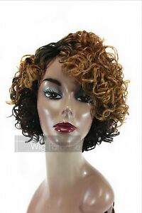 Vanessa Heat Resistant Short Curly Super C Side Lace Part