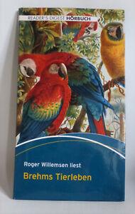 8 CD's Hörbuch: Brehms Tierleben - Roger Willemsen - über 10 Stunden Spielzeit