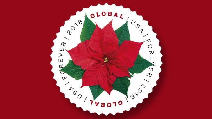 2018 $1.15 U.S.A. Poinsettia Global Forever Scott 5311