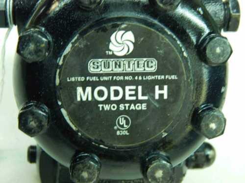 SunTec Sundstrand H3BA-B200H H3BAB200H Oil Burner Pump