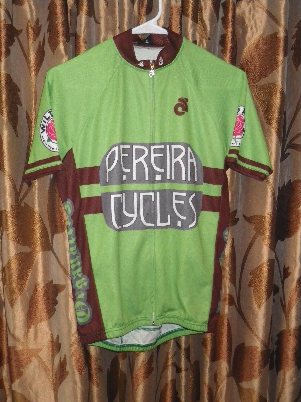 Champion Systems PEREIRA CYCLES Cycling Jersey  Men's Small  Portland OR Maker