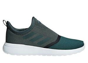Adidas-LITE-RACER-SLIPON-F36668-Verde-Scarpe-Uomo-Sportive-Running