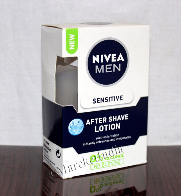 Nivea Sensitive Cooling After Shave Lotion For Men - 100ml Refreshing Feel