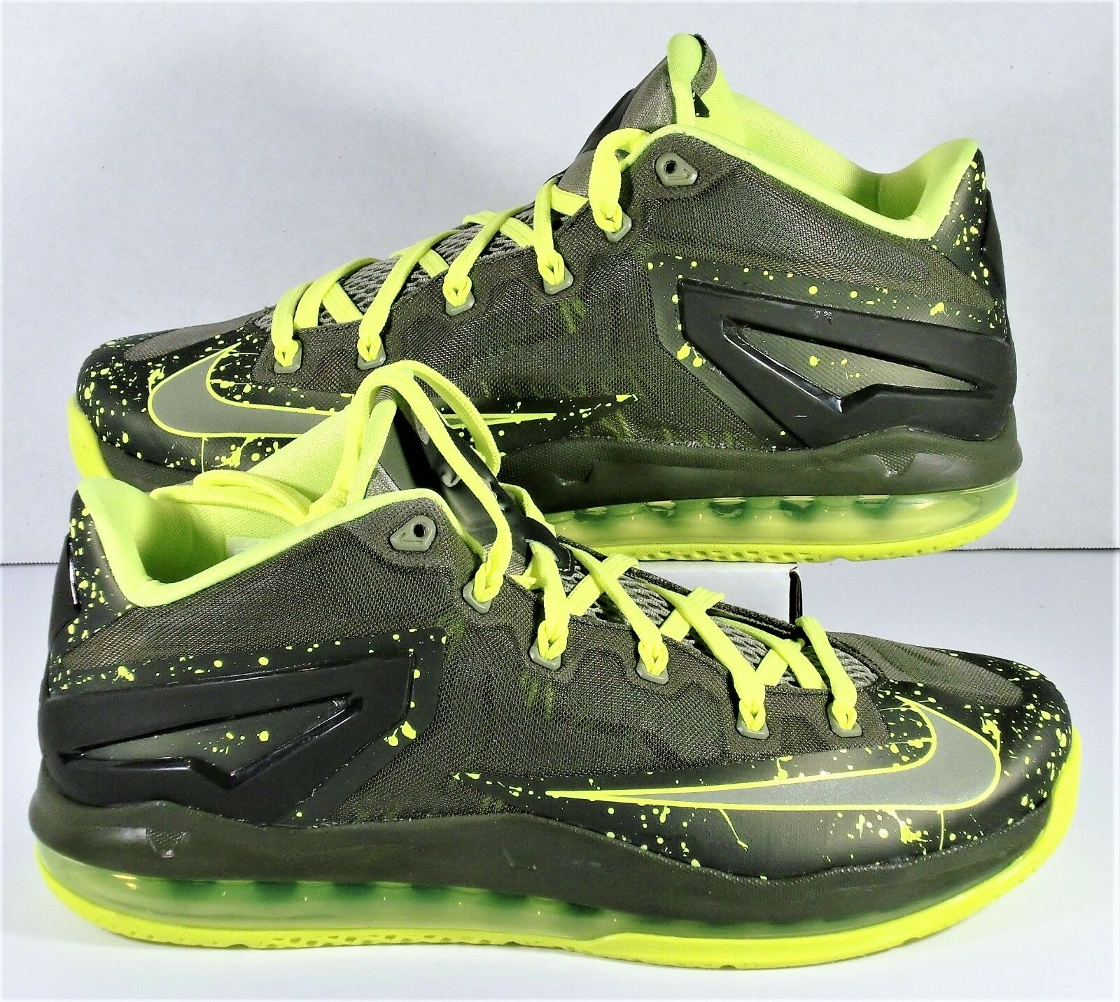 Nike Lebron Air 11 Low Dunkman Air Lebron Max Men Volt Green Shoes Sz 10 NEW 642849-200 8bca06