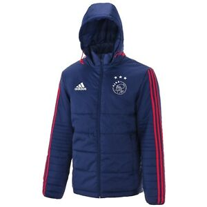 hot product the best huge selection of Details zu Adidas Ajax Daunenjacke Padded Winterjacke 17/18 - Gr. S, M, L,  XL, XXL, XXXL