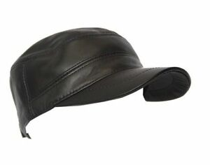 MENS BROWN CASTRO classic IVY Gatsby REAL LAMBSKIN Newsboy GOOD LOOKING Flat Hat