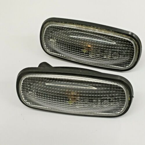 Land Rover Freelander Smoked Side Repeaters Indicators Pair 1997 to 2006 #38