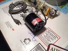 Complete Dayton 17 Hp Ac Dc Series Motor With Power Supply Controller Amp Timer