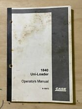 Case 1840 Uni Loader Operators Manual 9 15073