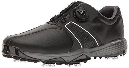 Adidas Uomo 360 traxion boa cnero / ft scarpa da golf nero m noi ebay