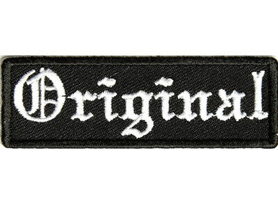 VAGINATERIAN Embroidered Jacket Vest Funny Saying Patch Biker Emblem Iron Sewn
