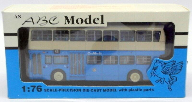 ABC 1 76 Scale Modell 000101 - Leyland 1974 Rear Engined Hong Kong Jumbo bus R10