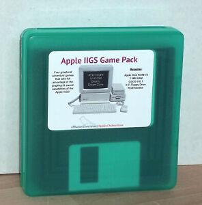 Apple-IIGS-Games-Pack-4-Games-on-5-NEW-3-5-Disks-IIGS-Capabilities-Max