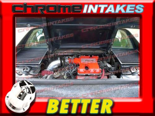 CF BLACK RED 84 85-88 PONTIAC FIERO SE//GT 2.8 2.8L V6 AIR INTAKE INDUCTION KIT