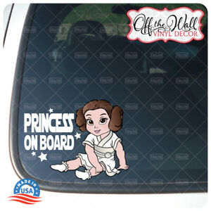 Little-Leia-034-Baby-Kid-Kids-or-Princess-on-Board-034-BUYERS-CHOICE-Awareness-Sign