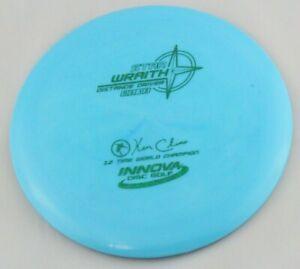 NEW-Star-Wraith-173g-Driver-Blue-Innova-Disc-Golf-at-Celestial-Discs