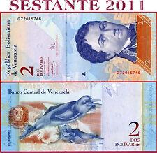 VENEZUELA   -  2  BOLIVARES  24.5. 2007  -  P 88b  -   FDS / UNC