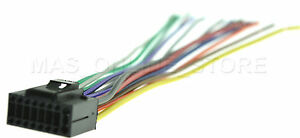 details about wire harness for jensen vm 9214 vm9214 *pay today ships today* Vm9214 Wire Harness 16 pin auto stereo wire harness plug