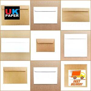 C5-C6-C7-DL-sobres-de-papel-Kraft-Marron-Blanco-Marfil-Tarjetas-Mini-Small-Large-A5-A6