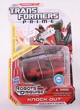 Transfomers Prime KNOCK OUT Deluxe Class New Sealed